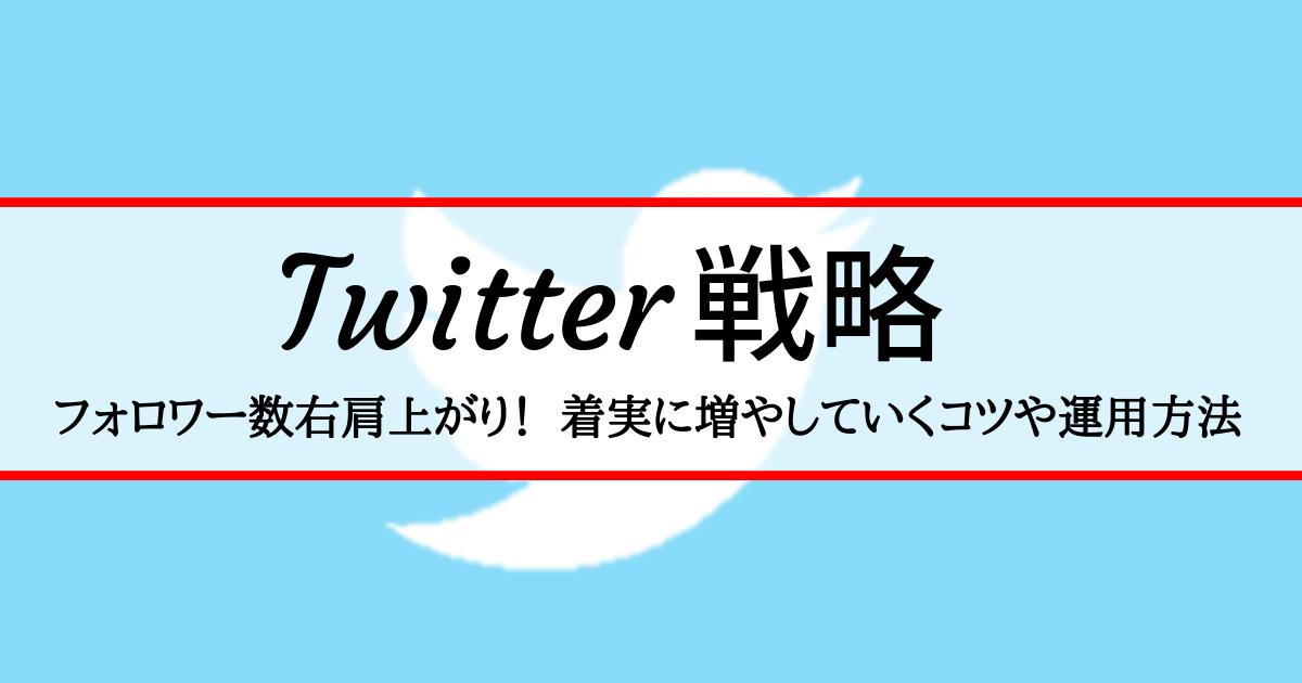 タイトルの背景にTwitterのロゴアイコン